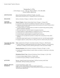 high school teacher resume template example sample teaching  high school teacher resume examples dance example resume for teachers smlf