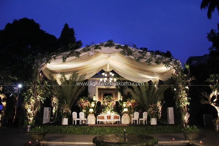Plataran Cilandak, Jakarta, Daun-daun Decoration, Lightworks