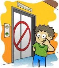 No use ascensor, recuerde que puede quedar atrapado