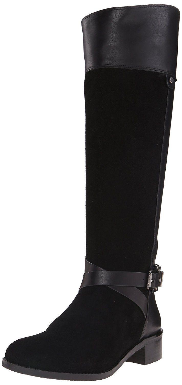 Soho Womens Lexy3 Studded Buckle Wrap Biker Ankle Boots