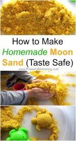 Wie man Hausgemachte Mond Sand Rezept (Geschmack Sicher)