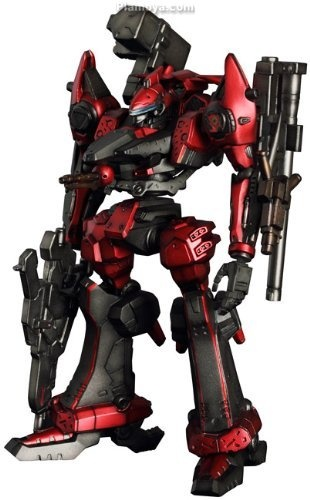 Figutto! Armored Core Non Scale Pre-Painted PVC Figure: Mechanicals Nineball $101.48