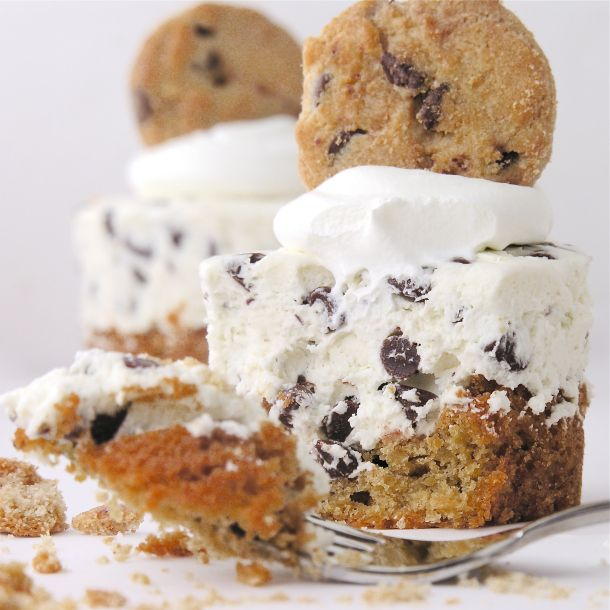 : One Nestle Chocolate Chip Cookie Dough Bar (the refrigerated dough ...