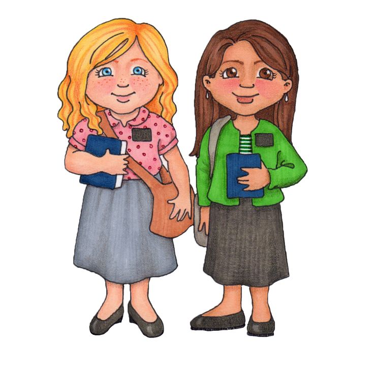Missionaries free clipart For