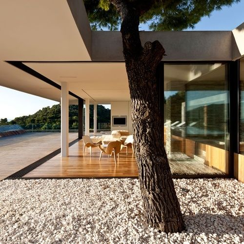 Stunning: House Design, Dreams Home, Beaches House, Studios, Indoor Outdoor, Planes House, Dreams House, Interiors Design, Outdoor Spaces