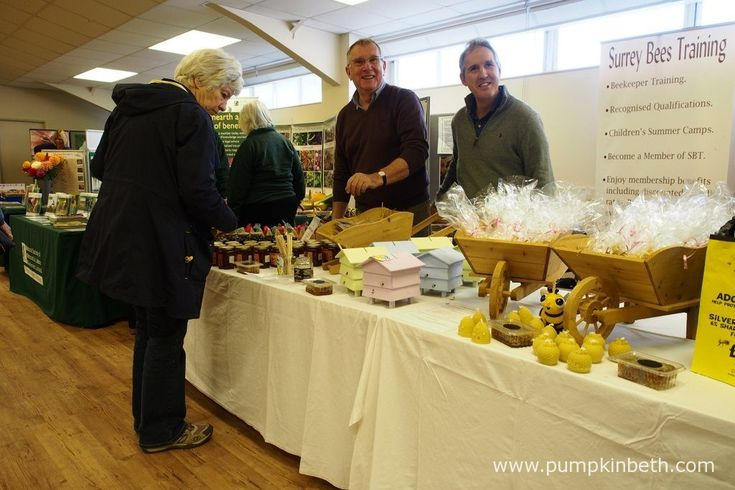 If you're looking to learn more about bees, you might be interested to meet the team from Surrey Bees Training. From the 19th to the 23rd of October 2016, you'll find Surrey Bees Training, inside the Hillside Events Centre at Taste of Autumn, at RHS Garden Wisley; where you can buy honey, honeycomb, and beeswax candles, and find out more about bee keeping.