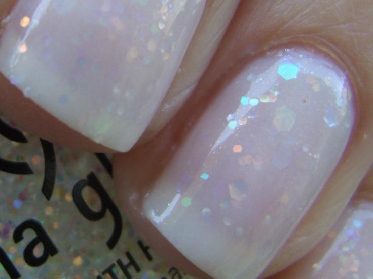 "Obsessive Cosmetic Hoarders Unite!: China Glaze ""Snow Globe"" Glitter Jelly Sandwich"