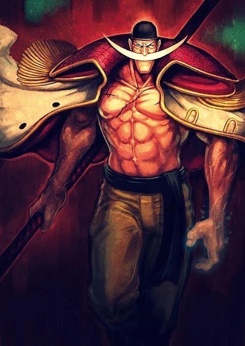 "Strongest Man in the World. Edward ""Whitebeard"" Newgate"