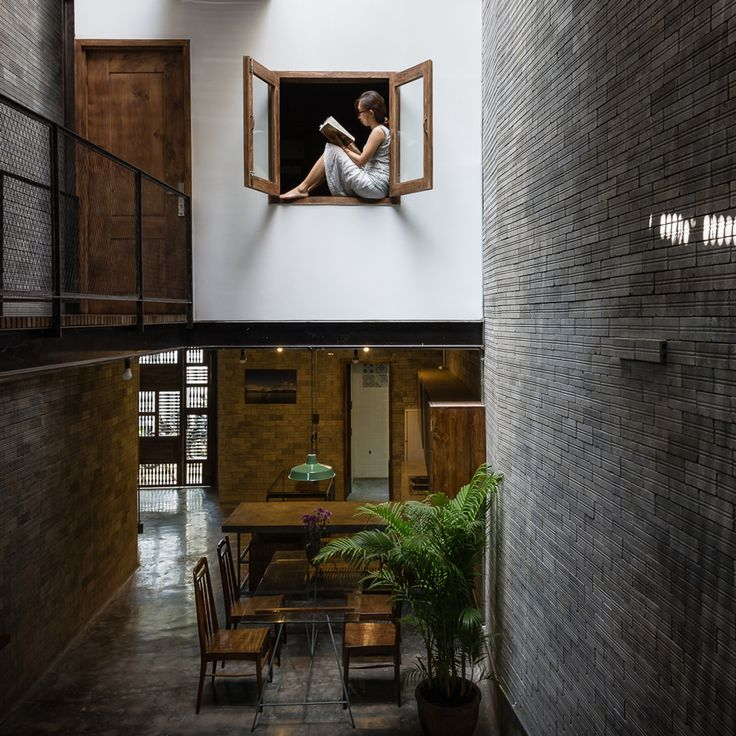 Zen House by HA - HA envisioned the building as a quiet sanctuary, offering its three occupants respite from the crowded city streets.