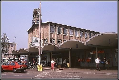 Nog een foto van het station. Nu van de voorkant... Voorheen dan.