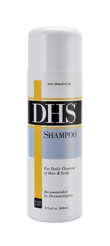 Dhs shampoo for hair and scalp cleansing - 8 oz