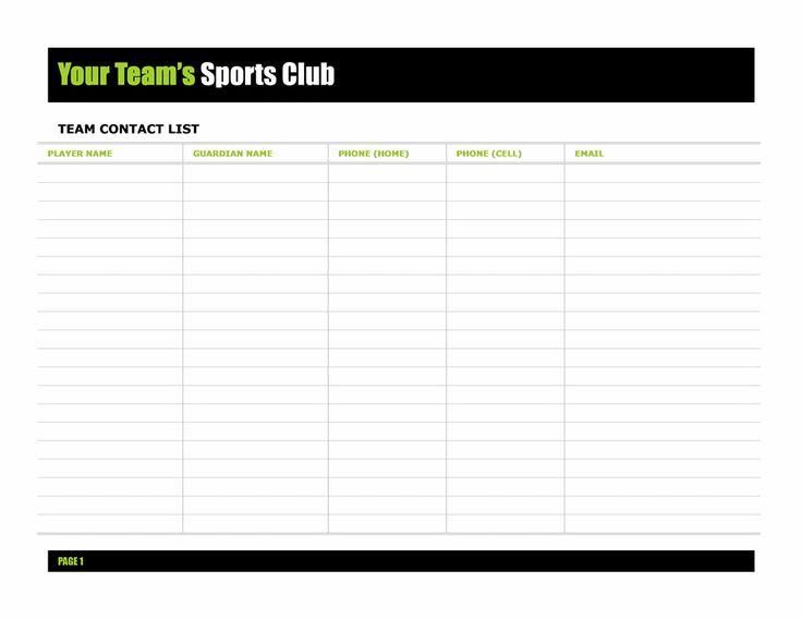 Business Contact List Template Business Templates Free Business – Business Contact List Template