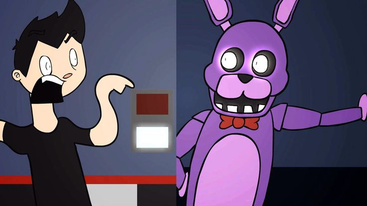 Five Nights at Freddy's ANIMATED by Markiplier haha you have to watch his video's
