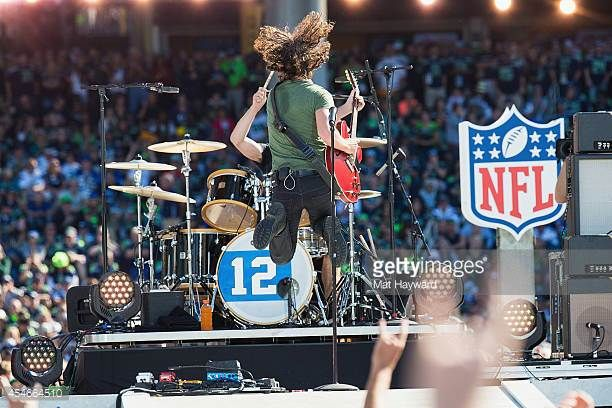 Singer Chis Cornell of Soundgarden performs on stage during the NFL Kickoff concert presented by Xbox before the Seattle Seahawks play the Green Bay...