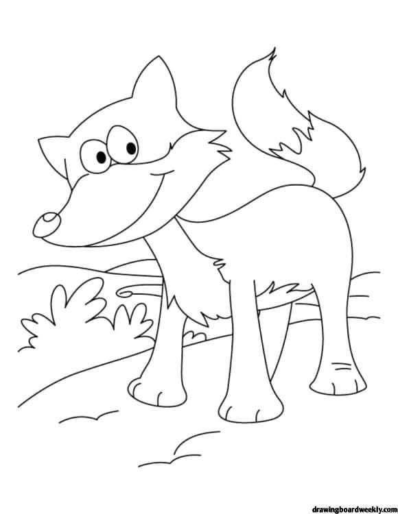 Fox In Socks Coloring Page Fox Coloring Page Animal Coloring Pages Coloring Pages