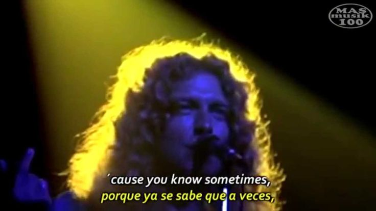 Led Zeppelin- Stairway to Heaven (Subtitulado Esp.+ Lyrics) Madison Squa...