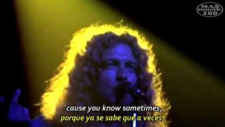Led Zeppelin- Stairway to Heaven (Subtitulado Esp.+ Lyrics) Madison Squa...