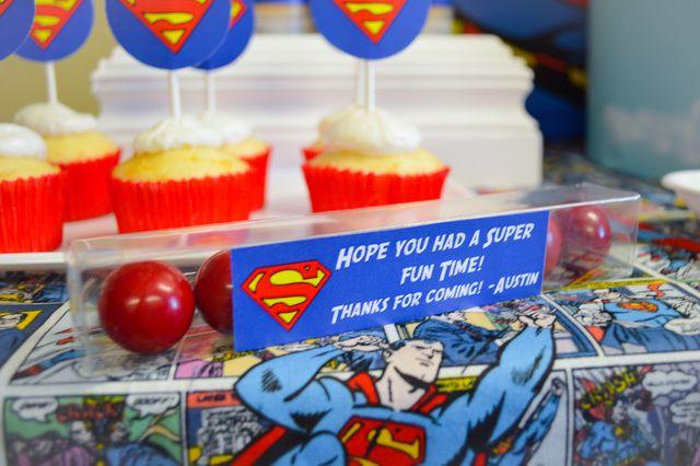 Super Hero Batman, spiderman Superman, Larry boy Birthday Party Ideas   Photo 4 of 12   Catch My Party