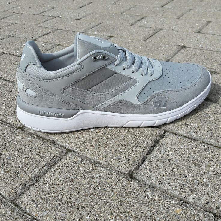 In grey, the Supra Winslow takes on a modern, crisp air.  Which is correct.