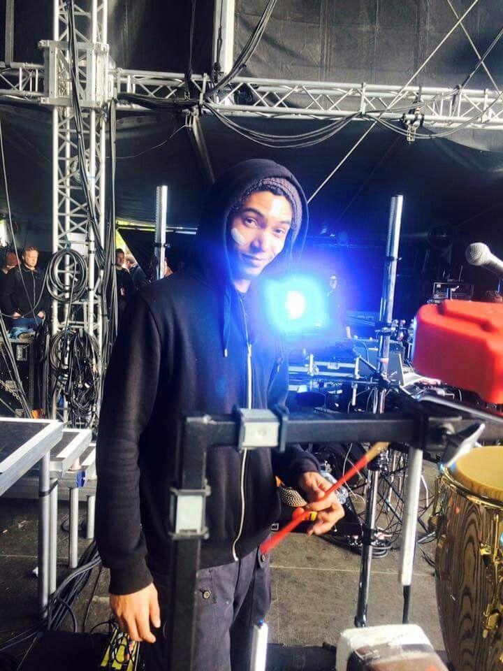 Paulo Goude backstage,  norway 2015