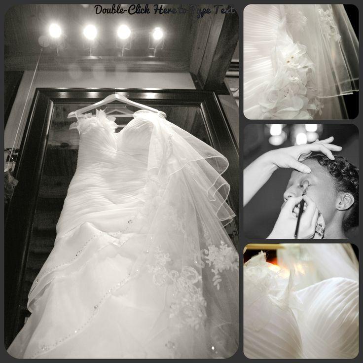 a Dress made for a princess. THe wedding of Sibongile and Tsepo