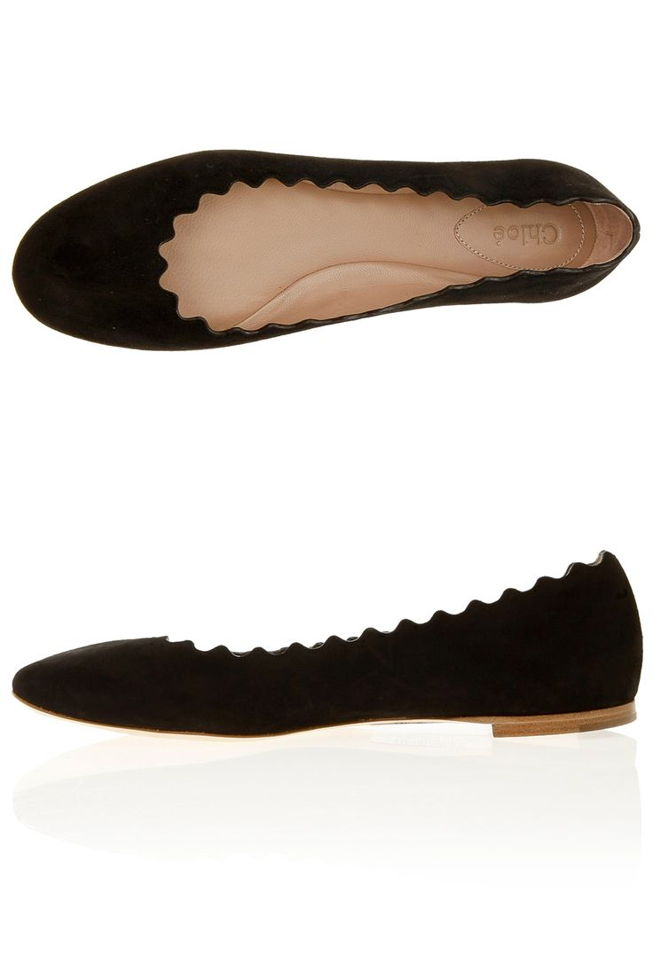 Chloe ballet flats are THE most comfy cozy buttery soft leather flats ever. Wearing the black ones right now!