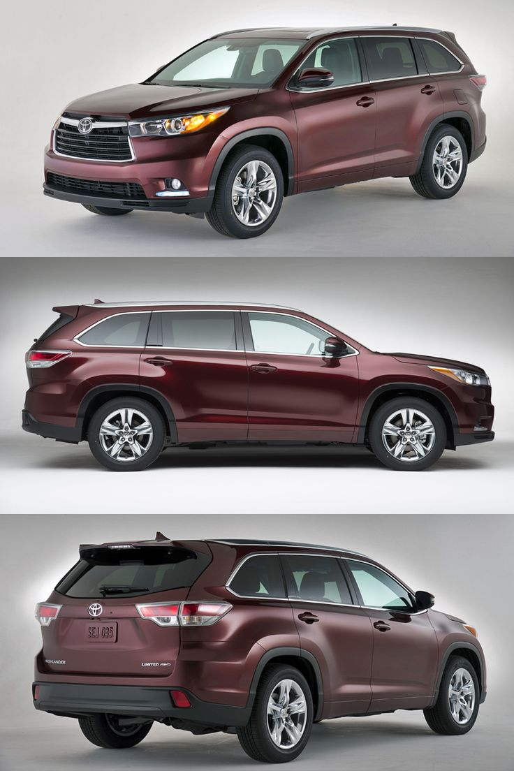 The third generation toyota kluger due here in 2014 will be the first