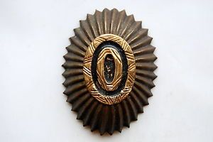 Imperial Russian Army - Oval Cap Badge or Cockade - WW1 Vintage. Image source ebay.