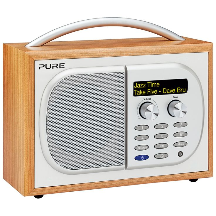 Digital Radio http://shop.pixiie.net/pure-evoke-1s-dab-digital-radio/