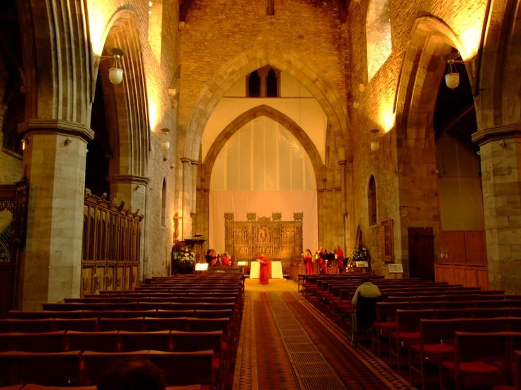 Brecon Cathedral, Wales, UK
