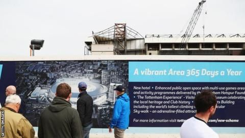 Tottenham's new ground