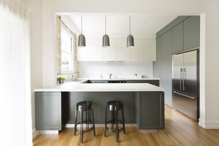 Simple, understated elegance in this contemporary kitchen design.
