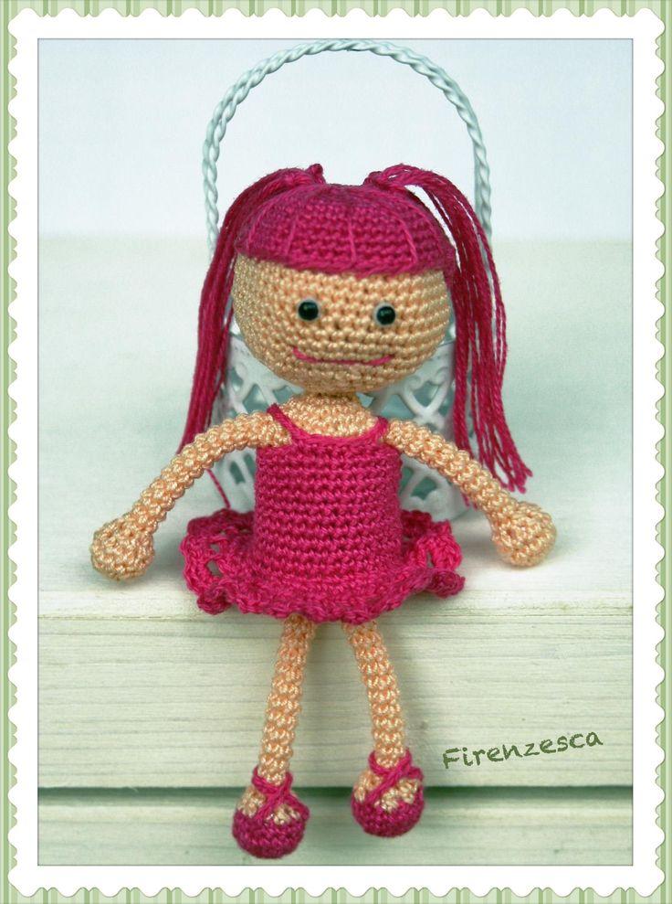 "amigurumi doll crochet  uncinetto bambola ""Francesca Birini"" free pattern https://amigurumi.today/lalaloopsy-doll-amigurumi-pattern-free/"