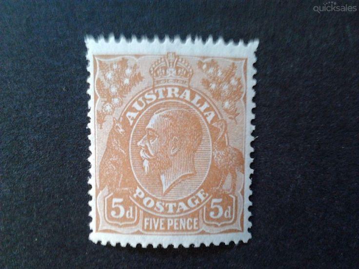 KGV ,5d, MuH  CoA watermarked by jones101 - $25.00