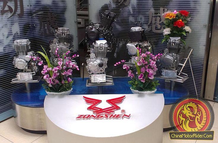 Zongshen motorcycle engine range