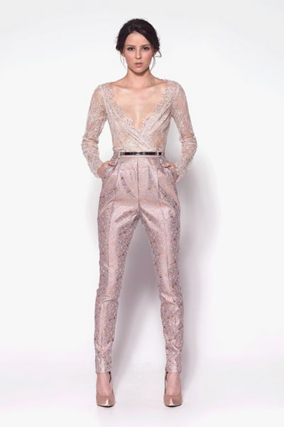 Paolo Sebastian Autumn Winter 2013 Couture Collection.