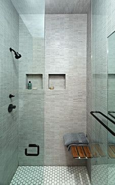 East Village Studio - modern - bathroom - new york - Jordan Parnass Digital Architecture