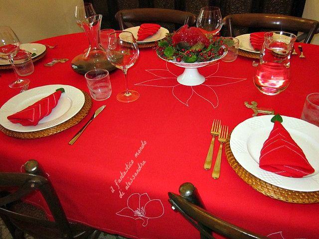 Oltre 25 fantastiche idee su la tavola di natale su - Decorazioni per la tavola di natale ...