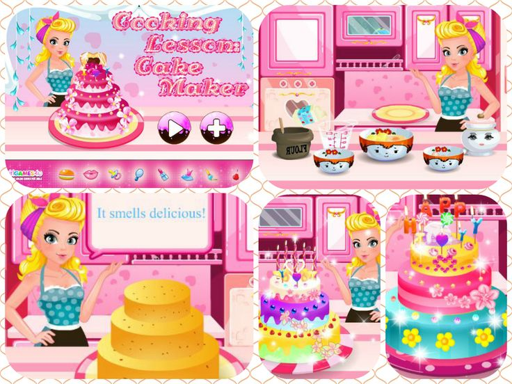 Hello ladies! Time to become the ultimate #cake maker! #Cook your way to a #delicious #dessert! ***   #Gameoftheday: http://www.girlgames4u.com/cooking-lesson-cake-maker-game.html