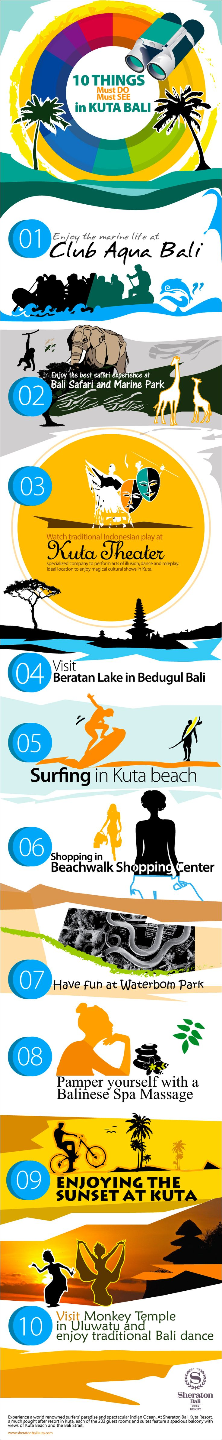 10 Things Must Do, Must See in Kuta Bali - We have gone through the whole Island and compiled a list of some of the best things to do in Bali.