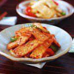 Eomuk Bokkeum (Stir-fried Fish Cake) - Korean Bapsang