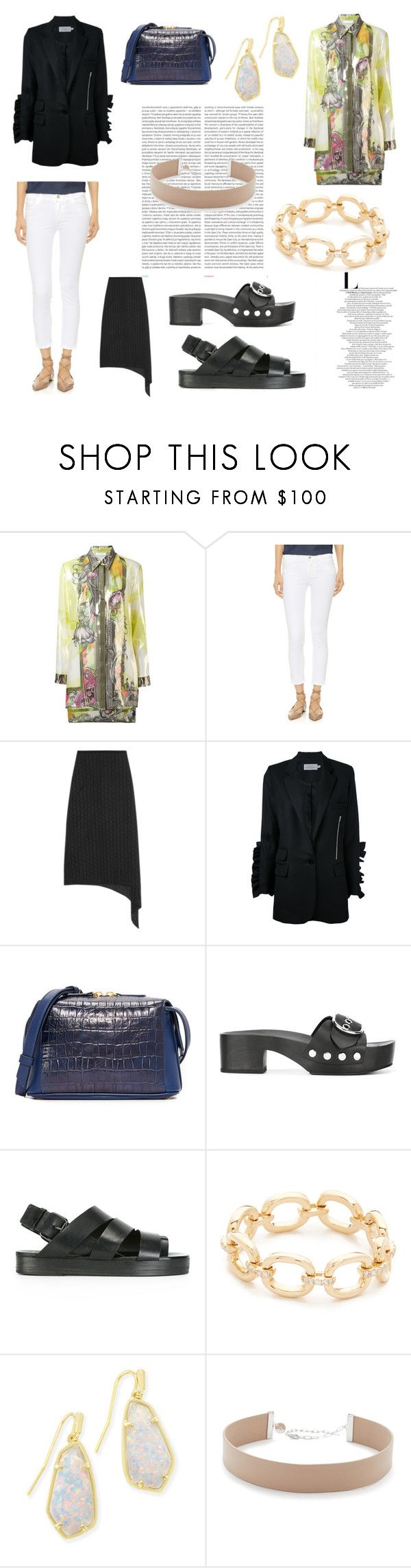 """""""Your Your Style"""" by denisee-denisee ❤ liked on Polyvore featuring Oris, Versace, J Brand, TIBI, Preen, Want Les Essentiels de la Vie, Alexander Wang, Marsèll, EF Collection and Kendra Scott"""