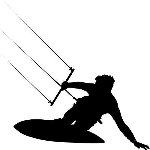 Surf Wall Decal Sticker - Surfing Sport Silhouette Decoration - 8 in. Black TheVinylGuru http://www.amazon.com/dp/B00989QX4G/ref=cm_sw_r_pi_dp_f22zub1JE381S