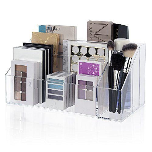 Large Capacity Makeup Pallet Organizer US Acrylic, LLC http://www.amazon.com/dp/B01BNTP2BS/ref=cm_sw_r_pi_dp_sCr0wb1135XD7