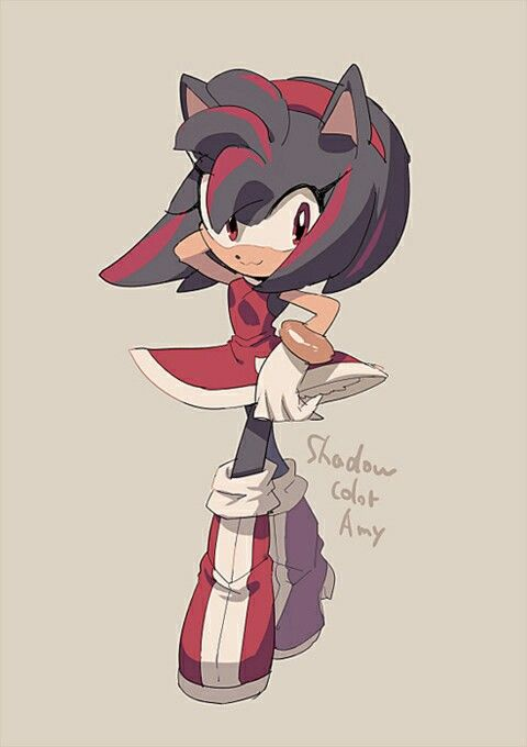 Amy rose and shadow sonic x