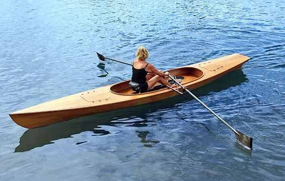 Chesapeake Light Craft Ocean Rowing Wherry | Small Boats in 2019 | Pinterest | Boat building ...