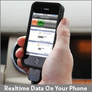 Realtime data on your phone
