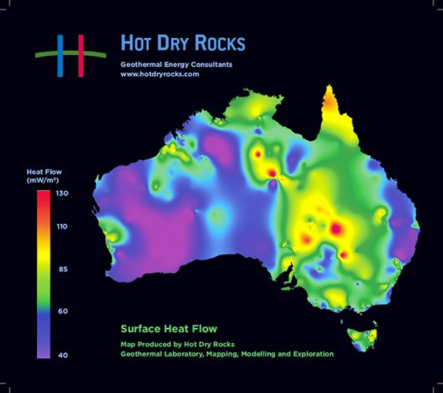 Geothermal Energy World Map