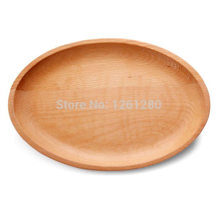Ручной эко-сельское fridendly овальный деревянный поднос в японском стиле творческие ручной работы из натурального пиццы сухофрукты закуски пластины