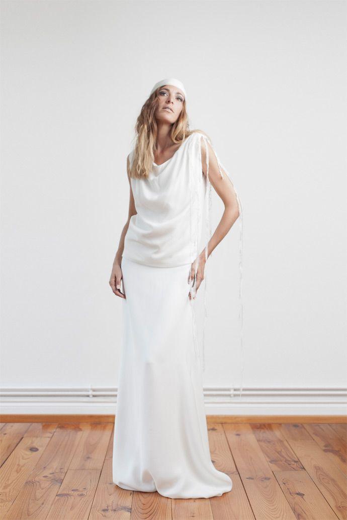 1000+ idées à propos de Robes De Mariage Droites sur Pinterest ...